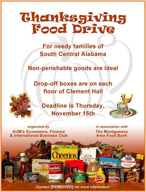 food drive flyer sles website resume cover letter