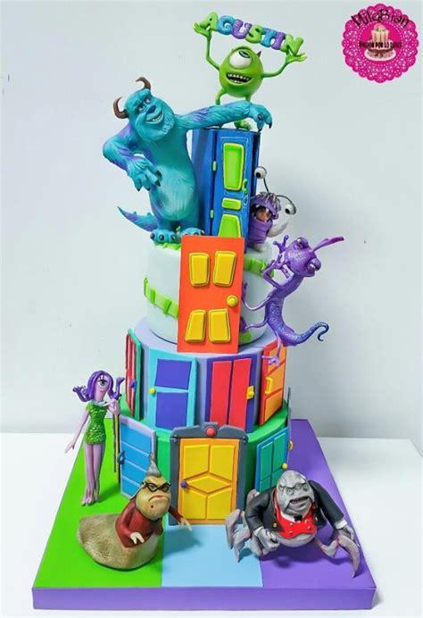monsters  cake cake  milebian cakesdecor