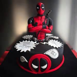 deadpool fondant cakes cupcakes pinterest deadpool cake fondant cake images