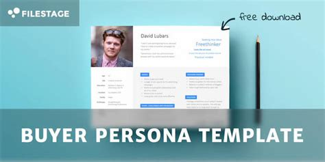 How To Create A Concrete Buyer Persona With Templates Exles Persona Template Powerpoint