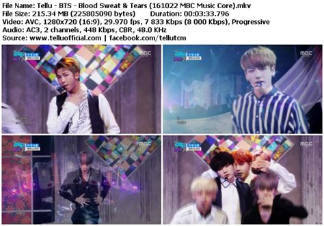 download mp3 bts blood sweat and tears download perf bts blood sweat tears mbc music core