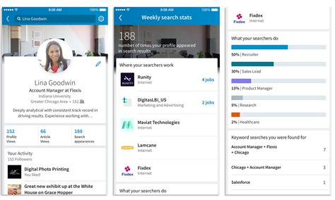 How To Search For On Linked In Linkedin S New Feature Now Allows You To See How Many Found You From A Linkedin