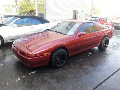 1991 Toyota Supra For Sale Purchase Used 1991 Toyota Supra Turbo Hatchback 2 Door 3