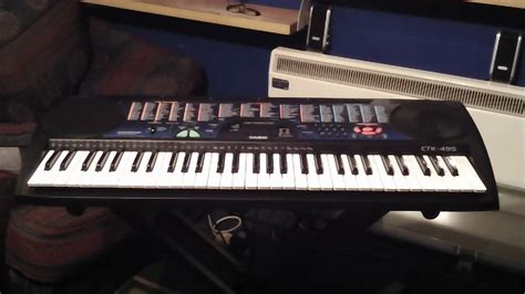 Keyboard Casio Ctk 100 Casio Ctk 495 Keyboard 100 Demonstration Songs Part 1 5