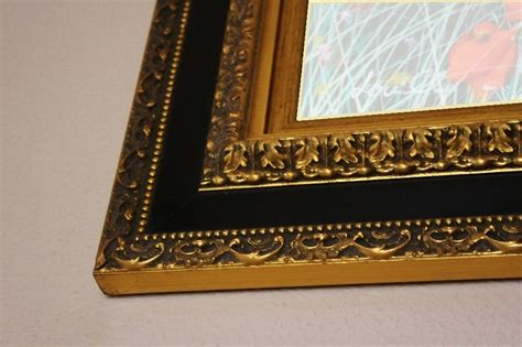 cornici per tela dipinto olio su tela co di girasoli con cornice in