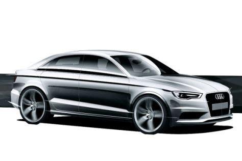 Wann Kommt Der Neue Bmw 1er Mit Frontantrieb by Neue Skizzen Der Audi A3 Limousine Autobild De