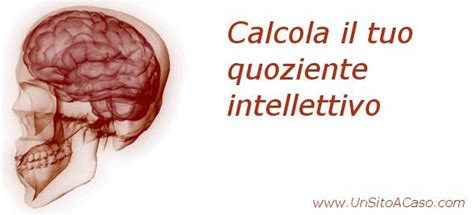 test quoziente intelletivo test quoziente intellettivo