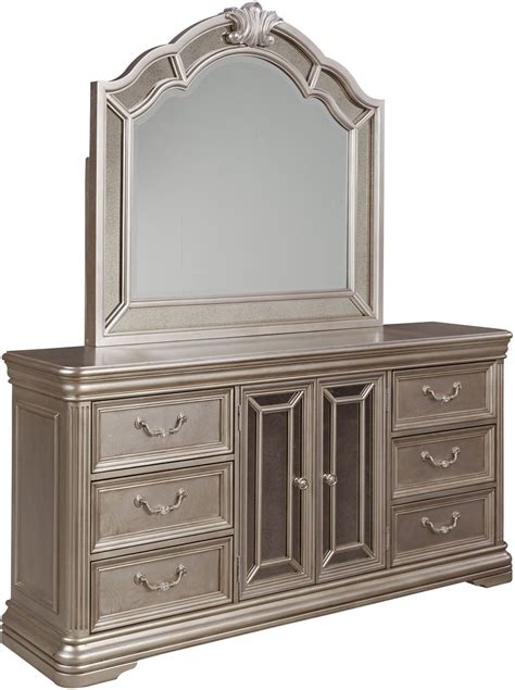 Birlanny Silver Upholstered Panel Bedroom Set B720 57 54 | birlanny silver upholstered panel bedroom set b720 57 54