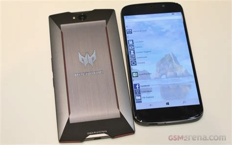 Handphone Acer Predator 6 acer predator 6 and jade primo on gsmarena tests
