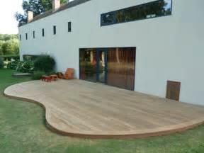 image de terrasse en bois d 233 co amp am 233 nagement de jardin la d 233 coration et l