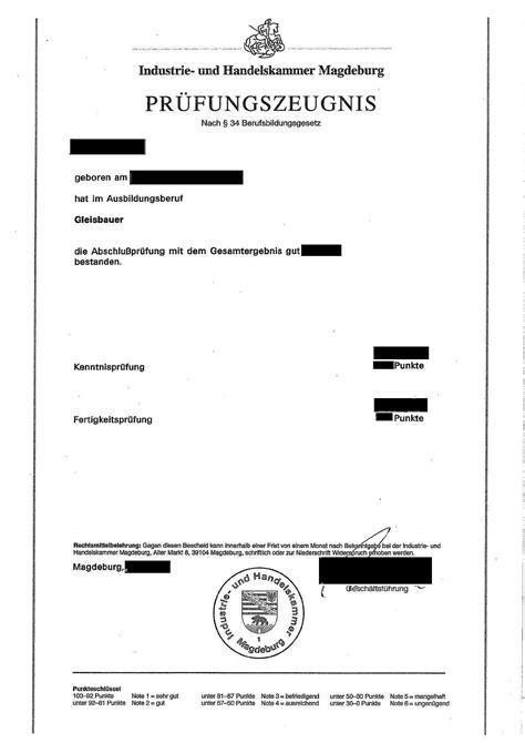 Bewerbungbchreiben Ausbildung Restaurantfachmann Muster Ihk Pr 252 Fungszeugnis
