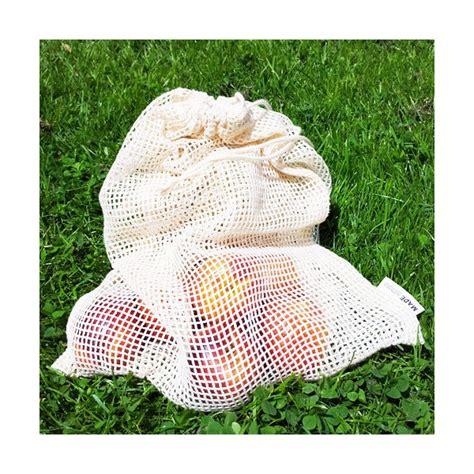 Sac Dechet Vert 6072 2 sacs 224 fruits filet net sans bpa
