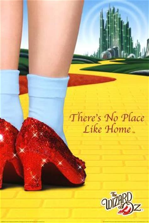 the wizard of oz there s no place like home prints at