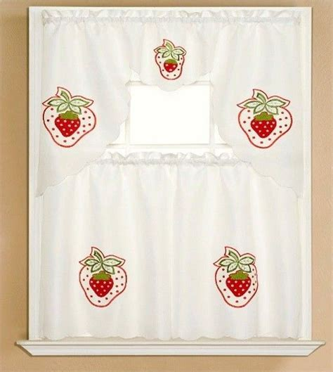 Strawberry Kitchen Curtains 17 Best Images About Strawberry Kitchen Decor On Strawberry Decorations Strawberry