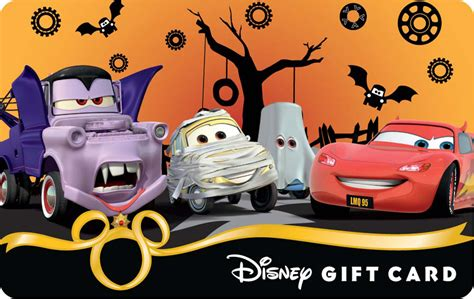Disney Gift Card For Theme Park - new halloween 2012 disney gift card designs disney parks blog