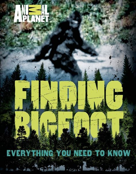 the foot book big 0553536303 finding bigfoot animal planet macmillan