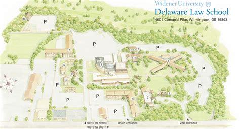 Campus Map · Delaware Law: Widener University