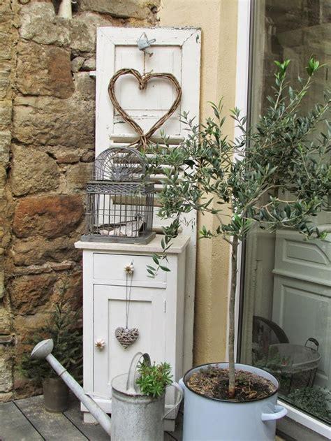 shabby gartendeko terrassen einrichtung und dekoration http shabbychic und