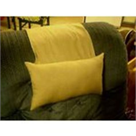 recliner head pillow tan stay put recliner chair neck and head pillow 04 17 2008
