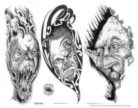 free demon tattoo designs 9 best images about skulls tattoos on tribal