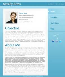 design a professional resume cv template in photoshop