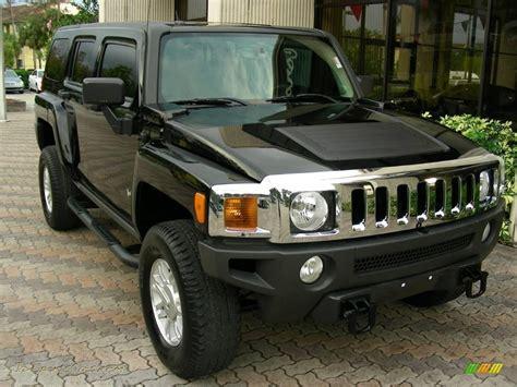 hummer jeep black hummer h3 2007 black images