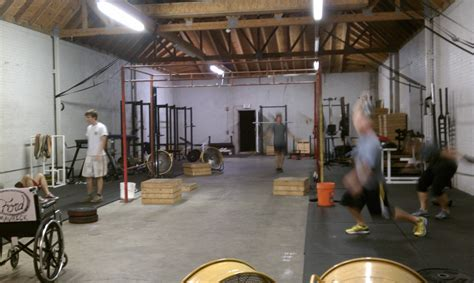 warehouse gym layout a crossfit experience food and fun on the runfood and