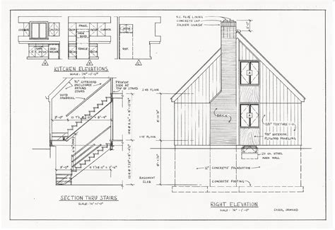 section drawings architecture architectural drawings