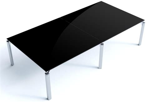 Black Glass Boardroom Table Rectangular Boardroom Table Must Other Glass 2360mm X 1180mm Reality