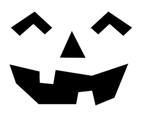 printable free jack o lantern patterns free printable easy funny jack o lantern face stencils