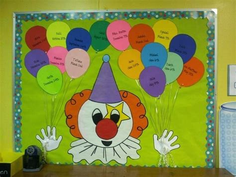 birthday bulletin board templates birthday balloon bulletin board ideas corner template