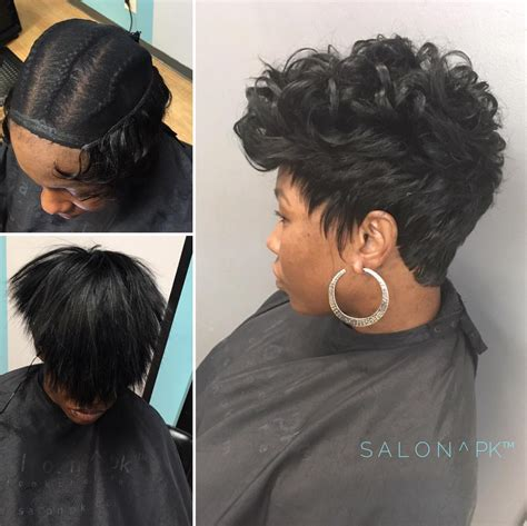 short sew n wrap hairstyle undetectable sew in by lisavirgo read the article here