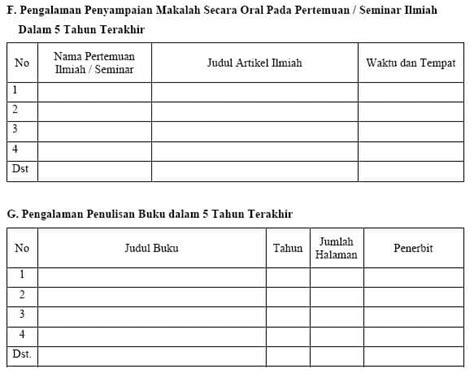 format biodata anggota pkm liran1 3 hibah penelitian
