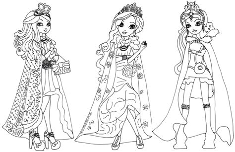 coloring page ever after high 8 dessins de coloriage ever after high a imprimer 224 imprimer