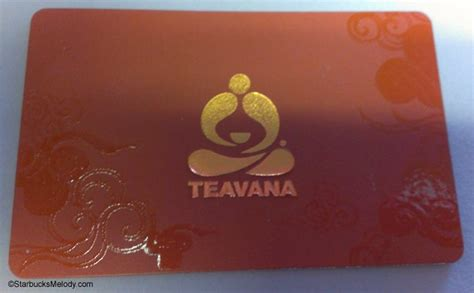 Starbucks Gift Card At Teavana - seeing stars at teavana the starbucks teavana card arrives starbucksmelody com