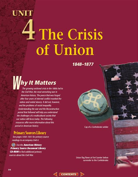 sectional crisis of 1850 issuu chapter 10 sectional conflict intensifies by