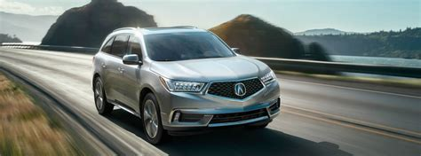 what packages are available on the 2017 acura mdx