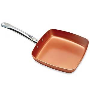 Buy copper chef 9 5 inch square nonstick fry pan from bed bath