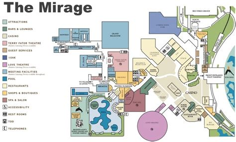 mirage hotel room layout las vegas the mirage hotel map