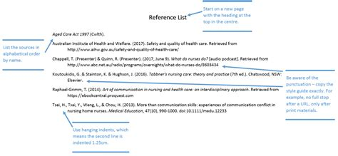 reference list template apa apa style reference list 2 sibling loss mahwah nj