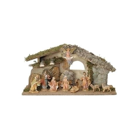 fontanini nativity set 11 piece set 5 inch scale the