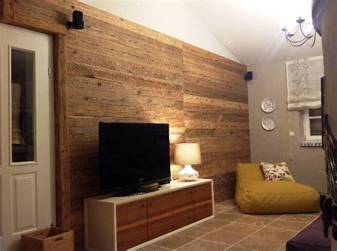 Tv Wand Holz Wohnzimmer Bs Holzdesign Wohnzimmer Gestalten Ideen Naturstein Wand Holz Balken