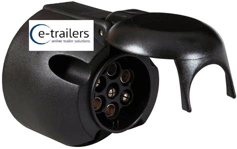 7 pin 12n electric connector socket trailer