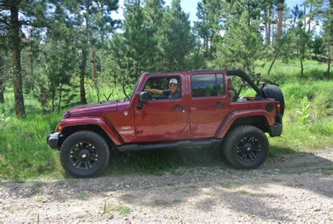 modified 4 door jeep wrangler 1c4bjweg6cl123366 2012 jeep wrangler lifted modified
