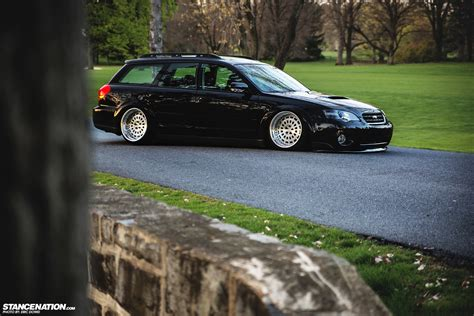 stanced subaru wagon badass wagon stancenation form gt function