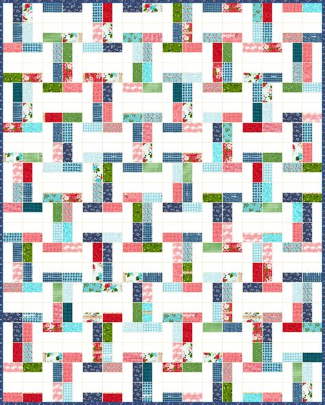 free pattern jelly roll quilt lets quilt something interlock free quilt pattern