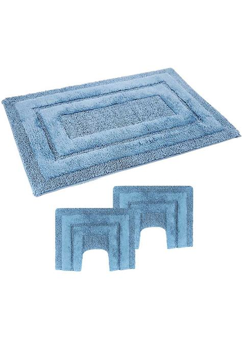 parure tappeti bagno tappeto bagno antiscivolo in ciniglia sirio parure 3 pezzi