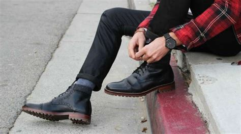 guys wearing shoes how to wear dress boots the idle