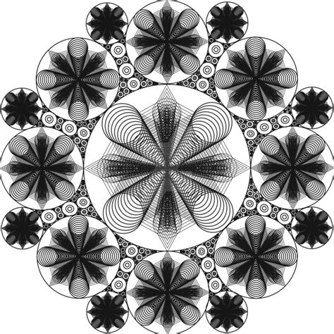spirograph pattern wallpaper spirograph points and circles by fractalwise on deviantart
