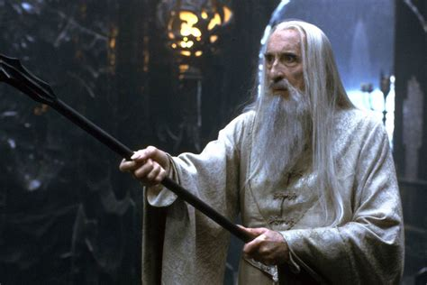 Christopher Peacock christopher lee star wars and lord of the rings actor